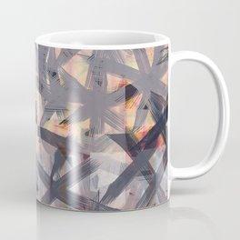 Multilayered Shibori Digital Painting Coffee Mug