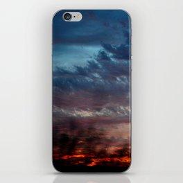 Night Lights Moving Sunset 27 iPhone Skin
