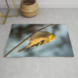 Goldfinch in Winter Rug