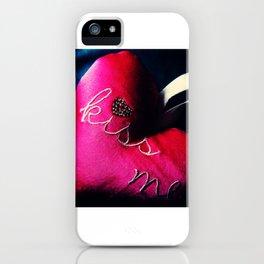 Kiss Me! iPhone Case