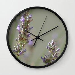 Lavanders 1 Wall Clock