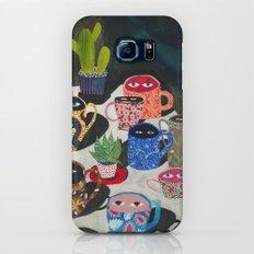 Suspicious mugs Galaxy S7 Slim Case