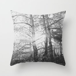 in the wood Throw Pillow