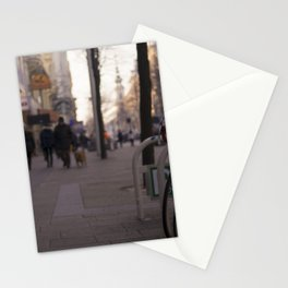 Street in Vienna Stationery Cards