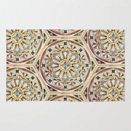 Mandala - Geometric marble Rug