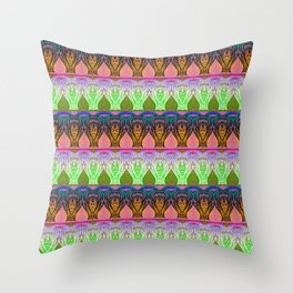 Sweet & Sour Apples Throw Pillow