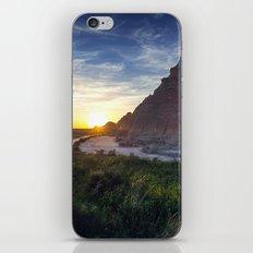 Sunrise in the Badlands iPhone & iPod Skin