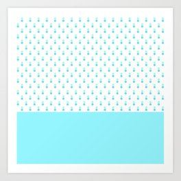 DOUBLE DOTS Art Print