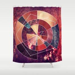 Geometric Rockstar Shower Curtain