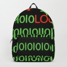 Digital screen locked Backpack