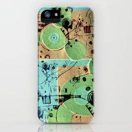 Vibrant Mechanics  iPhone Case
