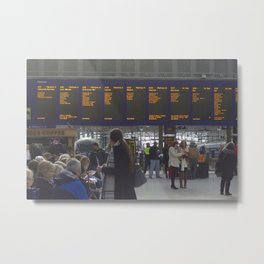Glasgow Central Station 1 Metal Print
