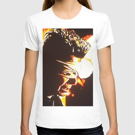 Stands a solitary candle T-shirt