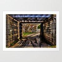 Kamelegdan Fortress Gate Overpass Art Print