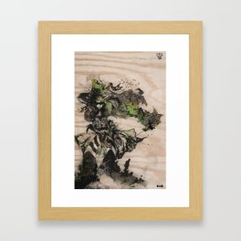 Three of A Perfect Pair Framed Art Print