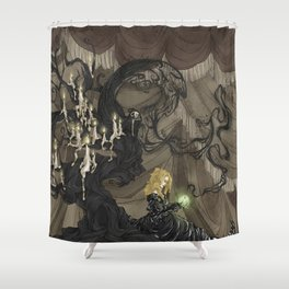 Midnight Circus: The Fortune Teller Shower Curtain