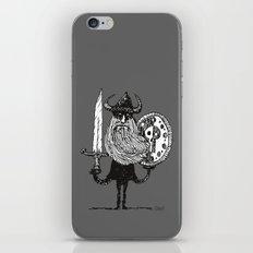 Sword, Beard & Shield iPhone & iPod Skin