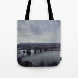 Arkansas River Bridge Tote Bag