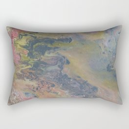 Day at the Beach Marble Rectangular Pillow