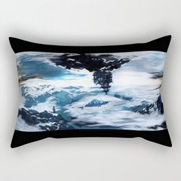 Concept Art Upside Down World Rectangular Pillow