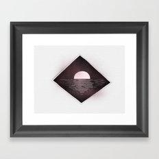 Go to sleep Framed Art Print