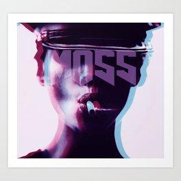 smokin'MOSS Art Print