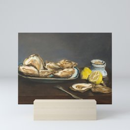Oysters by Edouard Manet, 1862 Mini Art Print