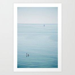 Ocean Calm Art Print