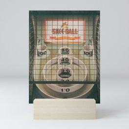 Skee Ball Game Mini Art Print