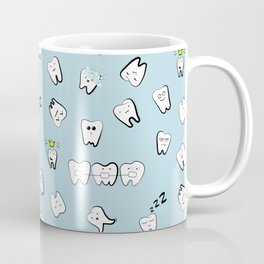 Teeth pattern Coffee Mug