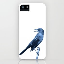 In the middle of nowhere: now, here iPhone Case