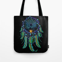 dreamcatcher Tote Bags featuring DreamCatcher by Oleksiy Zaitsev