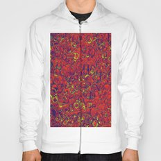 Ipad skins, Iphone, Computer, Canvas, Print, Red, Abstract, Funky Hoody