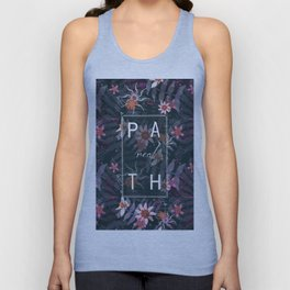REAL P A T H Unisex Tank Top