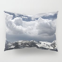 Clouds, Rockies, Spring Pillow Sham