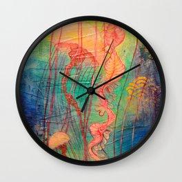 Jellyfish Bliss Wall Clock