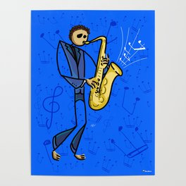 Saxman Poster