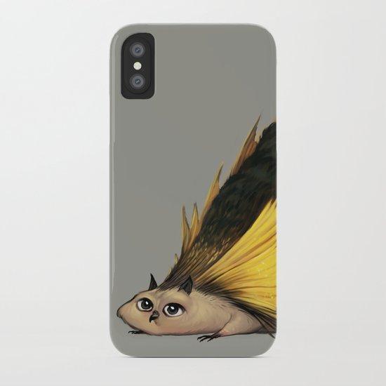Golden Platypowl iPhone Case