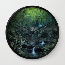 Nature photography. Zugarramurdi Cavern, Navarra, Spain.  Wall Clock