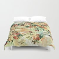 roses Duvet Covers featuring Roses by RIZA PEKER