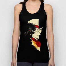 Jekyll and Hyde Silhouettes Unisex Tank Top