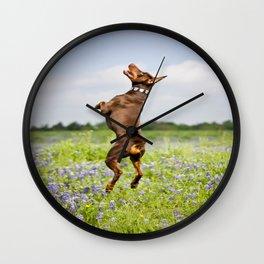 Spring In Texas Wall Clock