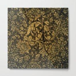 Decorative damask Metal Print
