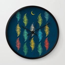 Vintage Fourteen Leafs Wall Clock