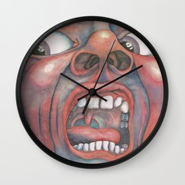 In the Court of the Crimson King Expanded Edition by King Crimson Wall Clock