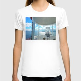 Souris Lighthouse View from the Top T-shirt