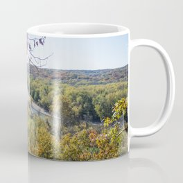 Castlewood - Fall Autumn Forest Photography Coffee Mug