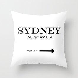 Sydney - Australia Throw Pillow
