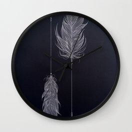 ..and then whats left is your arrow. Wall Clock