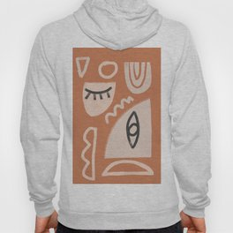 Abstrac Line Shapes 9 Hoody